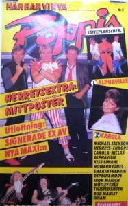 Poppis löp 1984-5