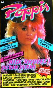 Poppis löp 1985-6