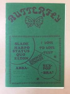 Butterfly 1976-7