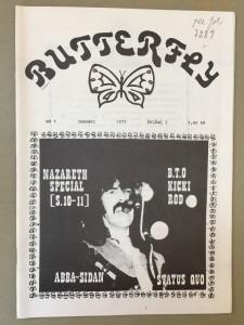 Butterfly 1977-1