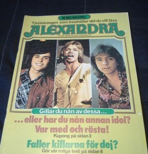 Alexandra 1974-5