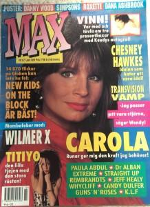Max 1991-3